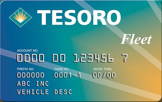 Tesoro card