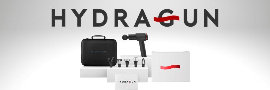 Theragun vs. Hydragun vs. Hypervolt - Hydragun Images