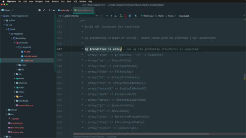 Filter and inspect collection queries