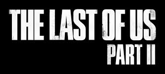 "Black banner with white text reading ""The Last of Us Part II"""