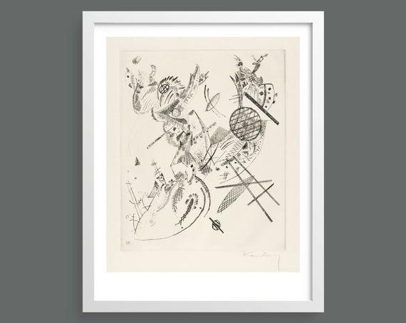 Small Worlds XII (Kleine Welten XII) by Vasily Kandinsky