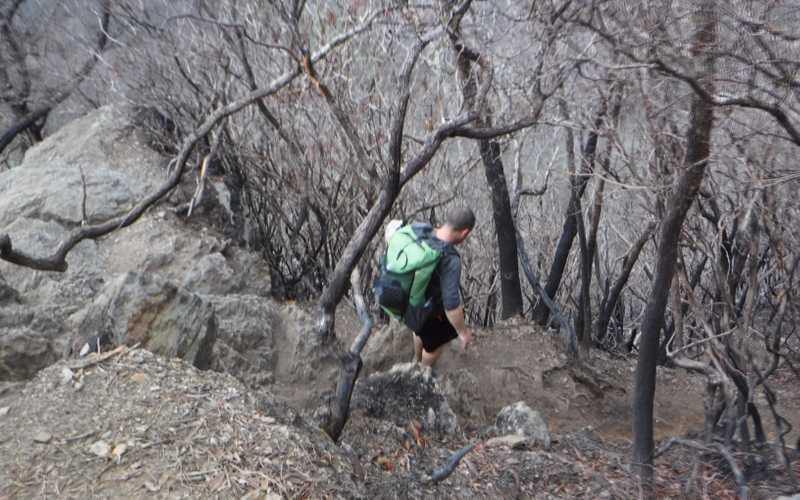 Difficult trail
