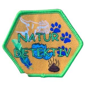 Naturdetektiv spejdermærke