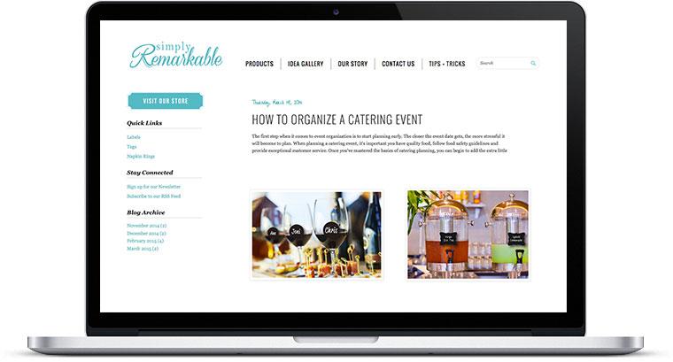blogger template screenshot