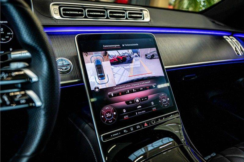 Mercedes-Benz S-Klasse 400d 4Matic Lang AMG | 3D Display | Augmented Head-Up Display | Burmester 3D | Pano | Memory afbeelding 18
