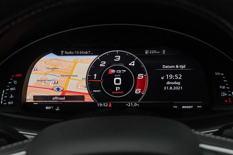 "Audi SQ7 4.0 TDI V8 Quattro 435pk 7 Pers. Panoramadak BlackOptic B&O NightVision Luchtvering ACC ValconaLeder+Memory Matrix Head-Up Navi-High Keyless Trekhaak 22"" Camera Pdc afbeelding 21"