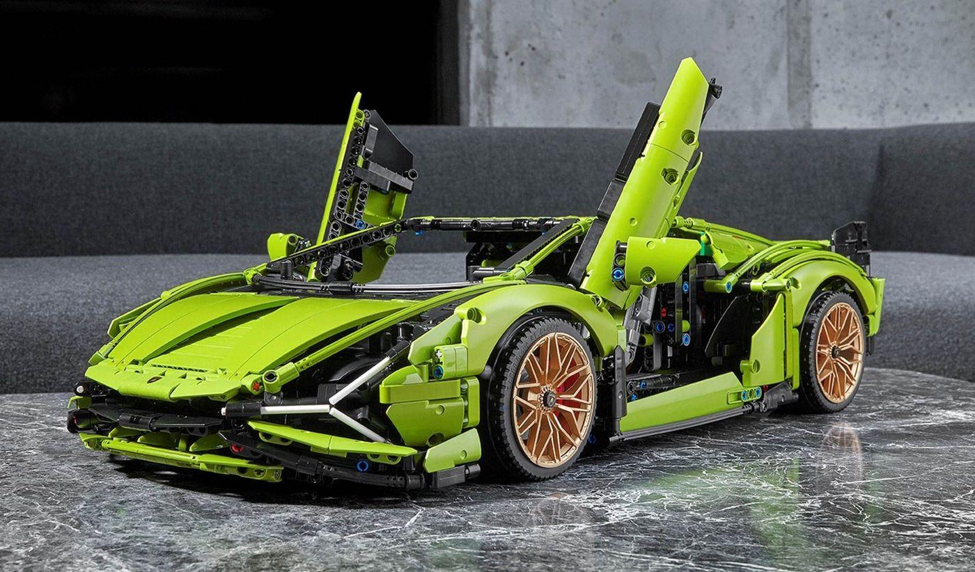 Lamborghini x Lego Technic