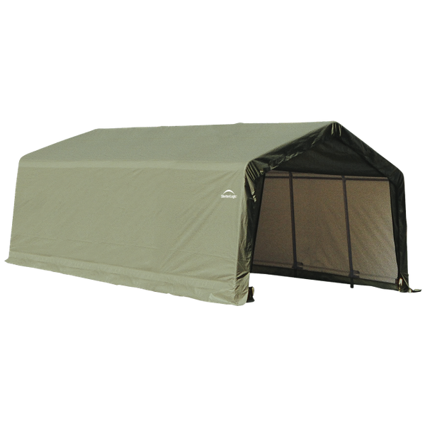 12x20x8 Round Shelter Green Colour