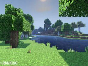 Minecraft MCPE shaders comparison