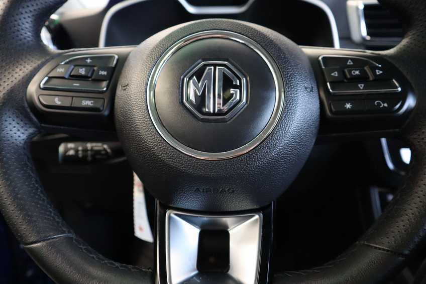 MG ZS EV Luxury 8% Bijtelling Leder Panoramadak Navigatie Cruise LM afbeelding 19
