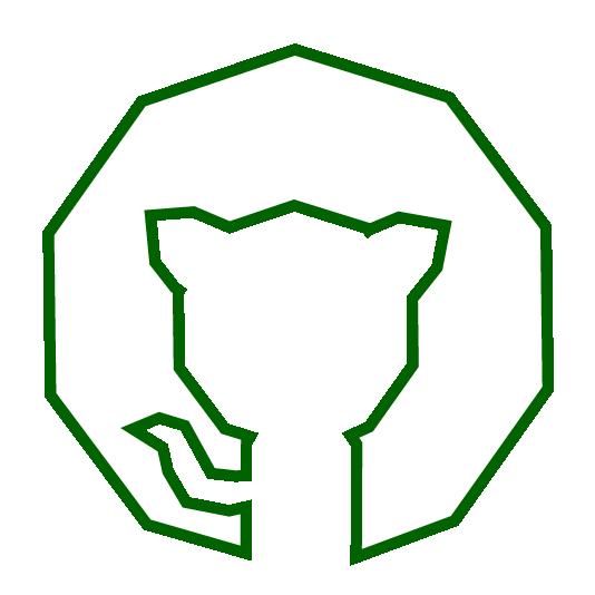 stylized github icon