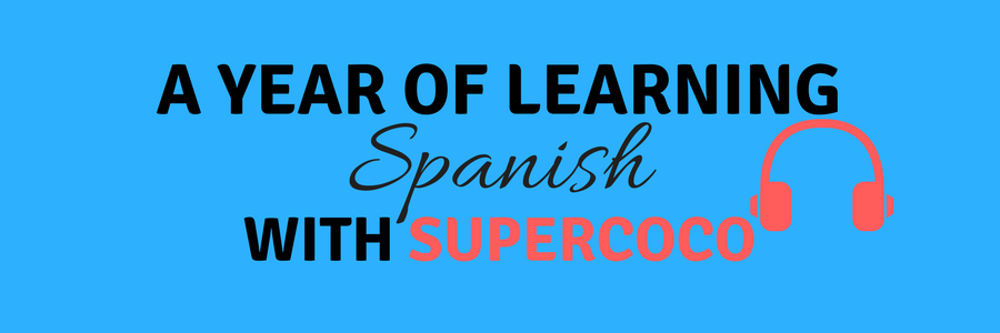 Year of learning Spanish banner
