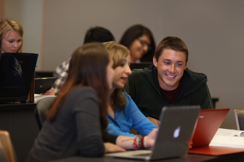 Students working together at a Carleton University boot camp