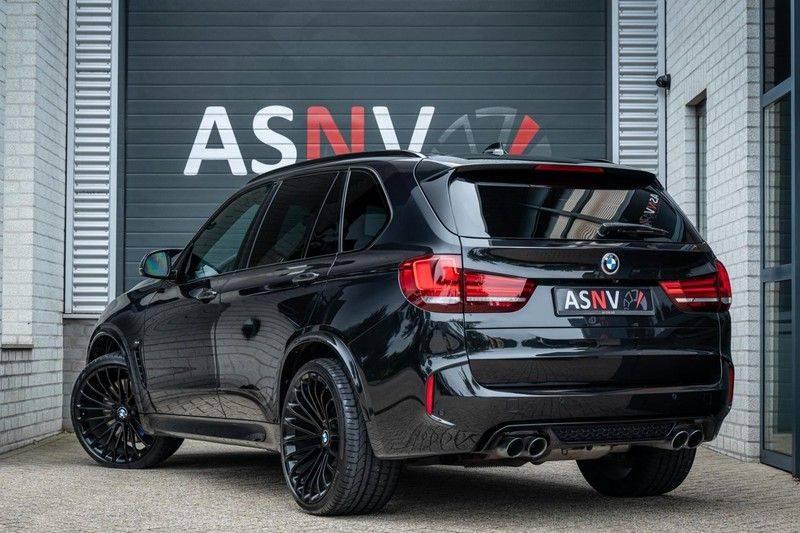 BMW X5 M, 575 PK, Pano/Dak, Leder Merino, Head/Up, Keyless, Soft/Close, Harman/Kardon, Surround View, LED, 22'' Breyton RS, 2016!! afbeelding 2