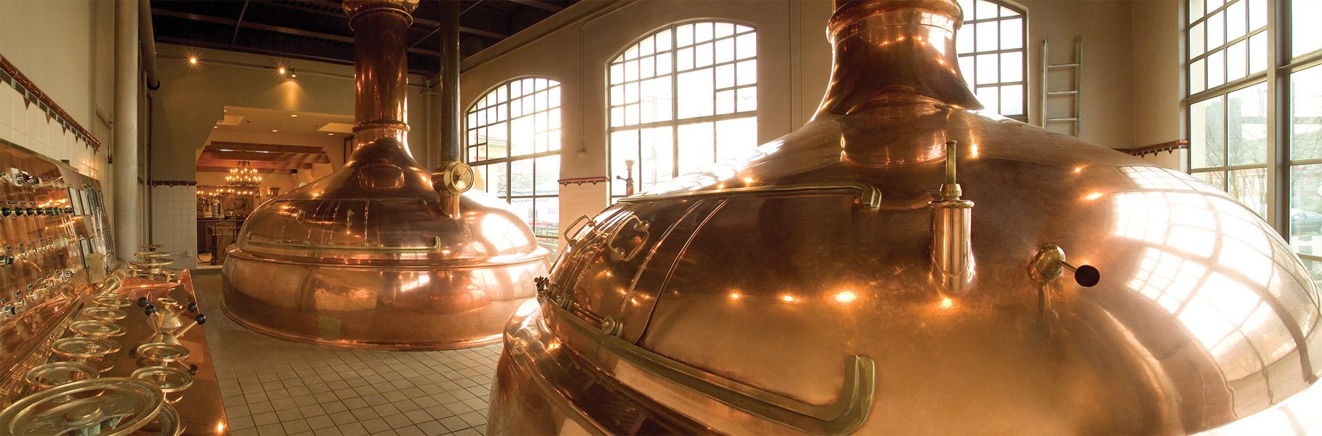 Portland Brewery Kettles