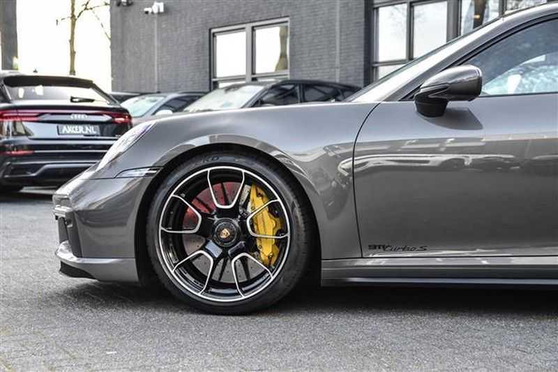 Porsche 911 TURBO S BURMESTER+LIFT+ACC+GLASDAK NP.305K afbeelding 13