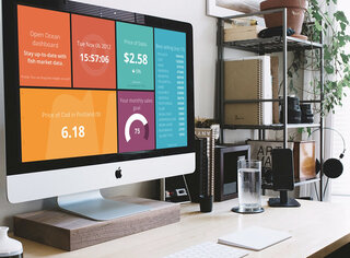 Creating dashboards for big LCD displays and tablets with Rubbi and Dashing photo