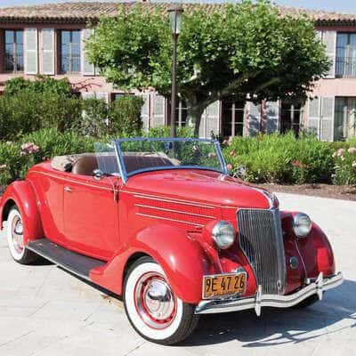 Ford V8 DeLuxe 2 Door Roadster 1936 0