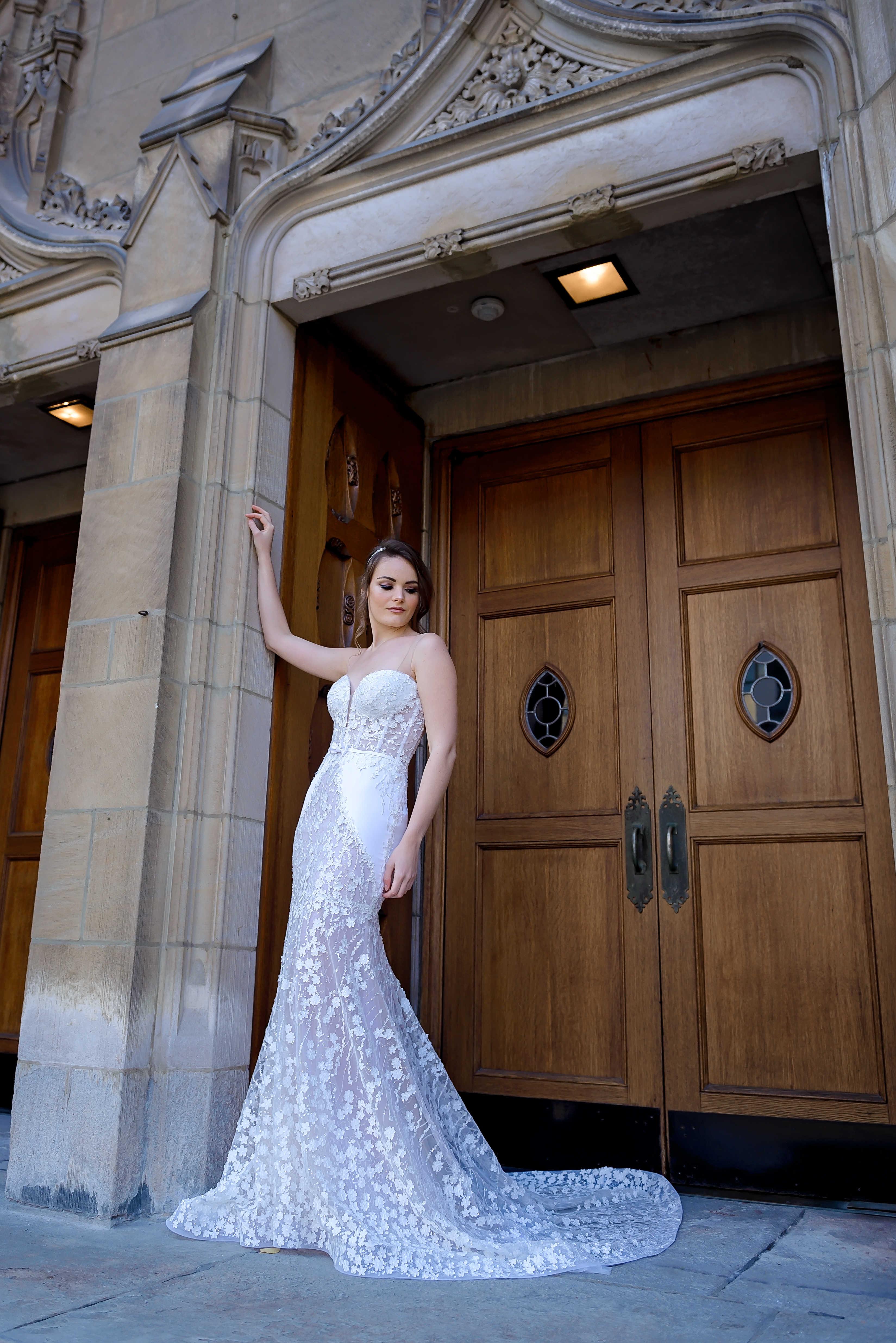 robe sirene boutique robes de mariee montreal robe en soie robe de mariee avec corset