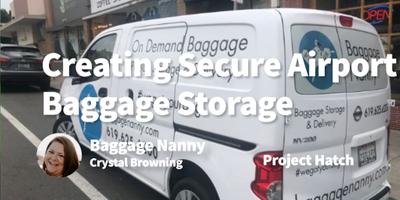 featured image thumbnail for post Creating (Super) Secure Airport Baggage Storage For Flyers
