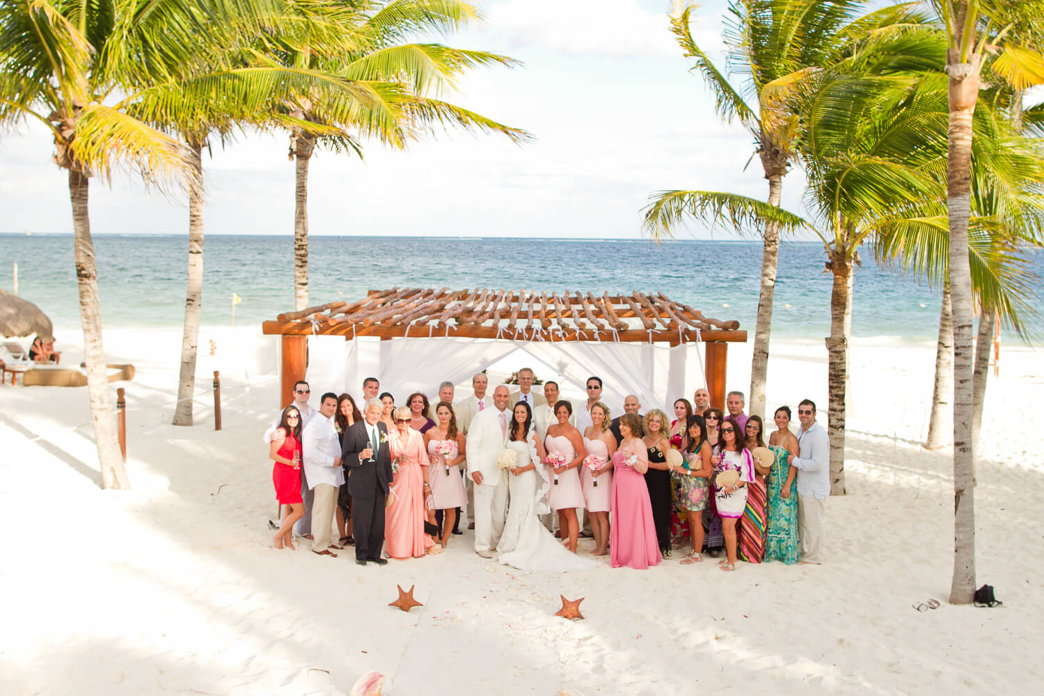 excellence riviera cancun wedding photography