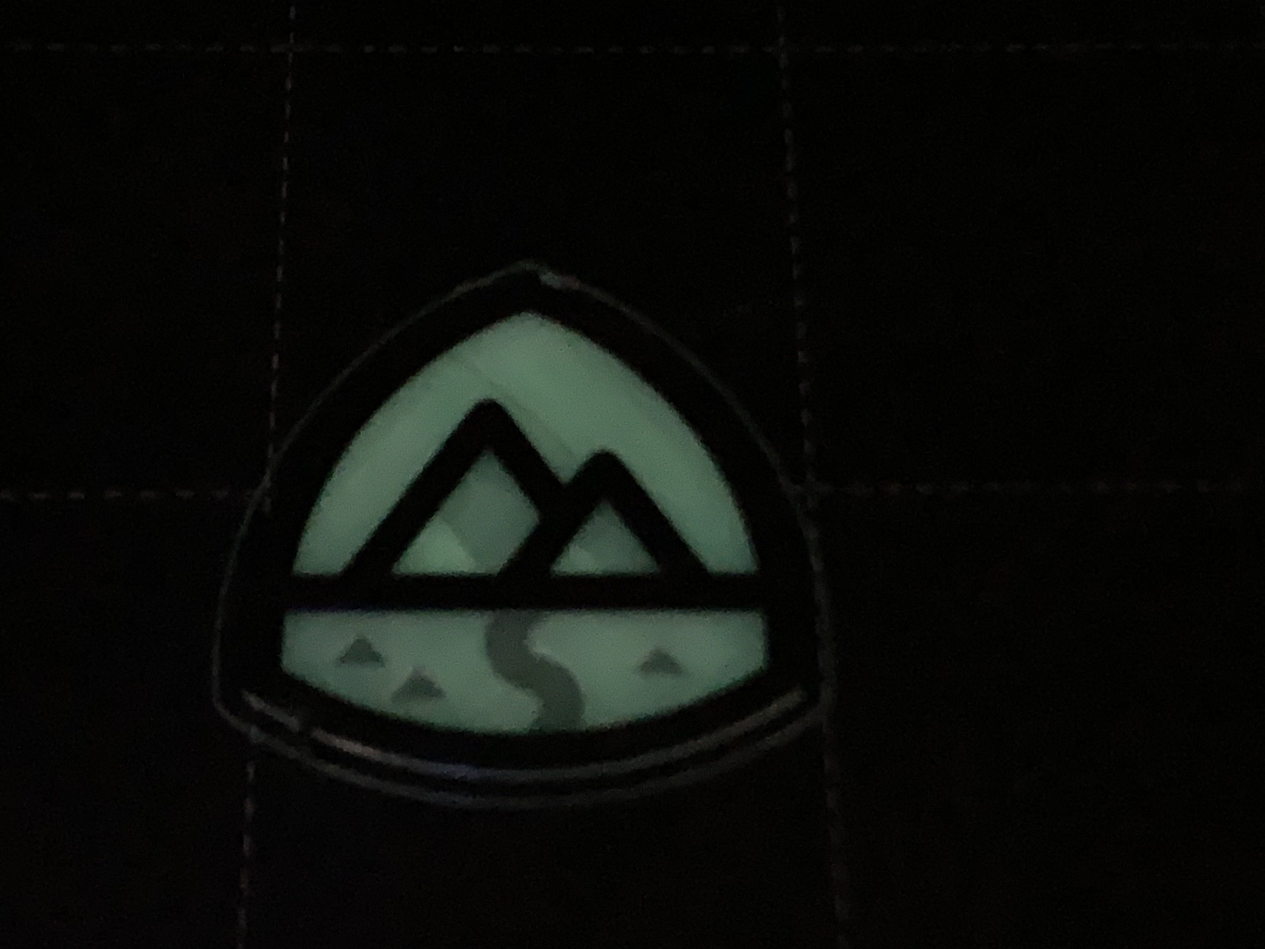 Trailhead Logo Printed with lights off