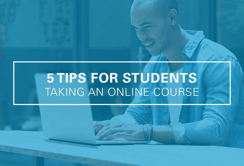 Taking an Online Course? You'll Need These 5 Tips