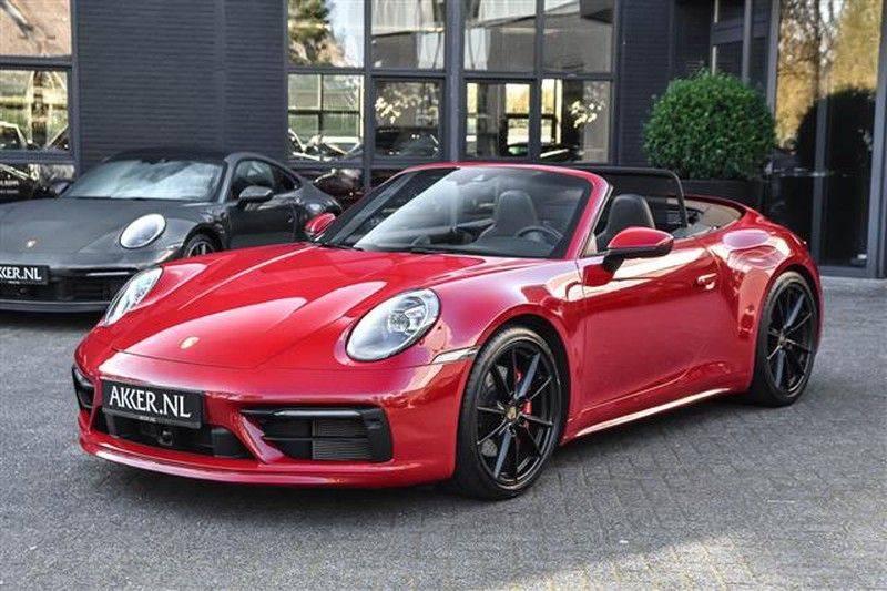 Porsche 911 4S CABRIO 4WSTURING+ST.KOELING+SP.CHRONO NP.218K afbeelding 10