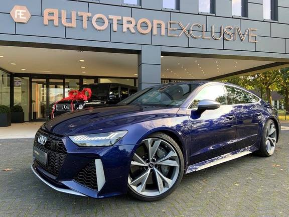 Audi RS7 4.0 TFSI RS 7 quattro A7 Sportback Keramisch, B&O 3D, 305km/h,Luchtvering, Dynamic Plus Pack incl 4wielbesturing, ACC, Assistentie Pakket, Head-Up, Stoelkoeling, Softclose, etc