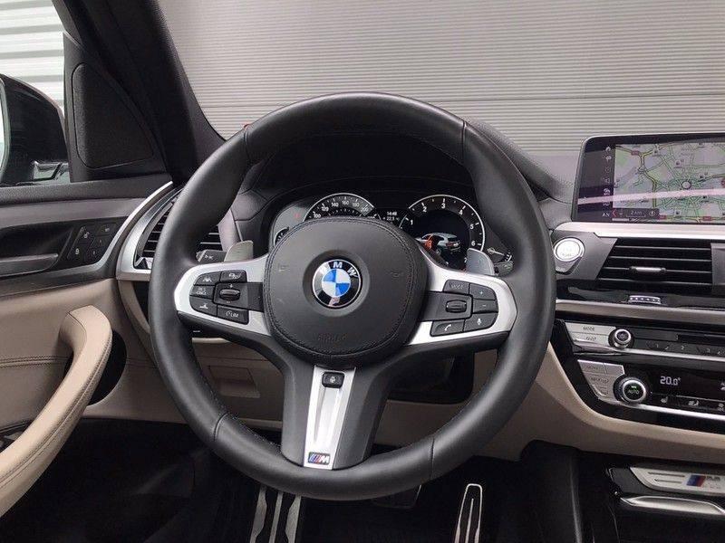 BMW X3 M40i X-Drive M-Sport, 360PK, ACC, Pano, Lane Assist, Keyless, Navi Prof, Camera, LMV'20 afbeelding 7