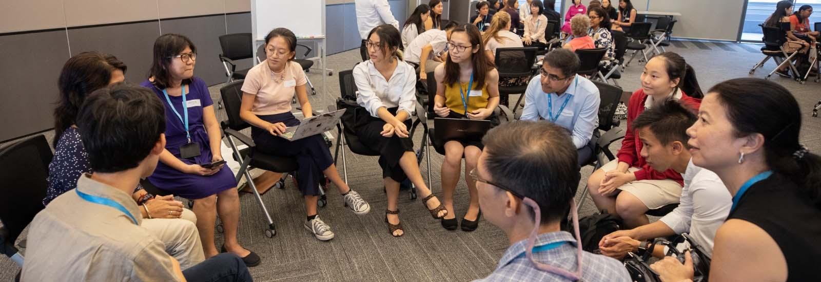 photo of focus group participants