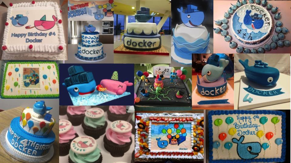 Docker Birthday Cakes Worldwide