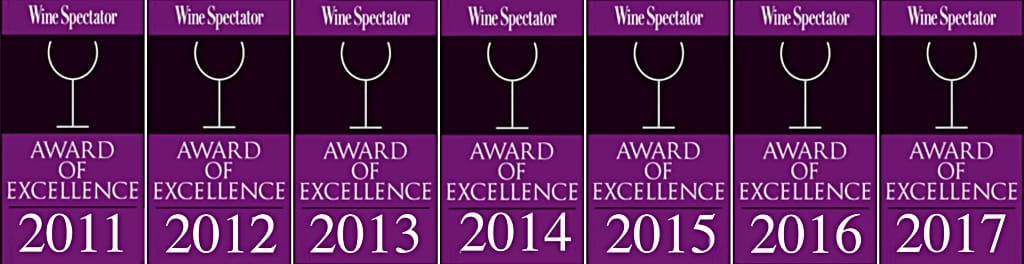 Wine Spectator Awards
