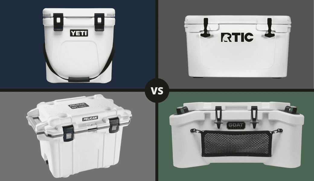 Best Coolers Reviewed:, RTIC vs. YETI - Pelican & GOAT Too, (2021 Review) cover image