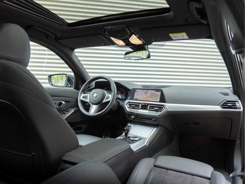 BMW 3 Serie Touring 330i M-Sport - Panorama - Trekhaak - Camera - Harman Kardon afbeelding 5