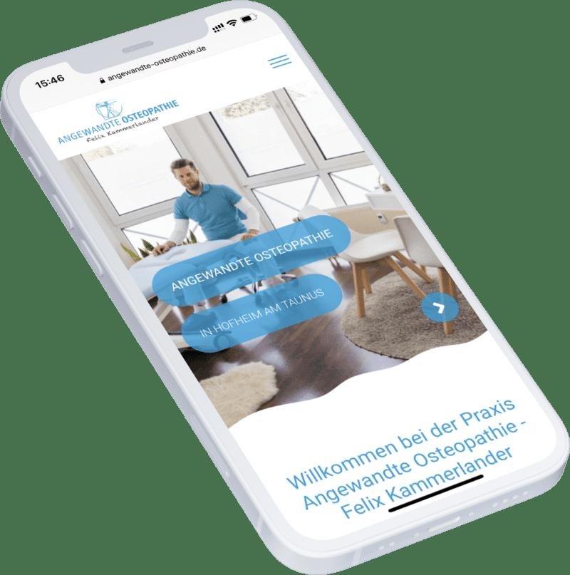 Angewandte Osteopathie Website