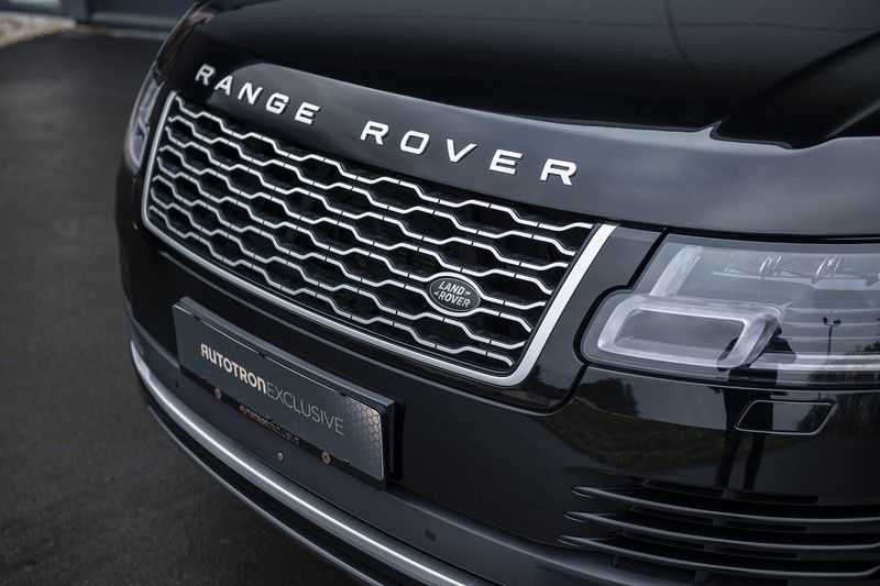 Land Rover Range Rover 5.0 V8 SC LWB Autobiography Rear Seat Entertainment + Head Up + 360 Camera + ACC afbeelding 13