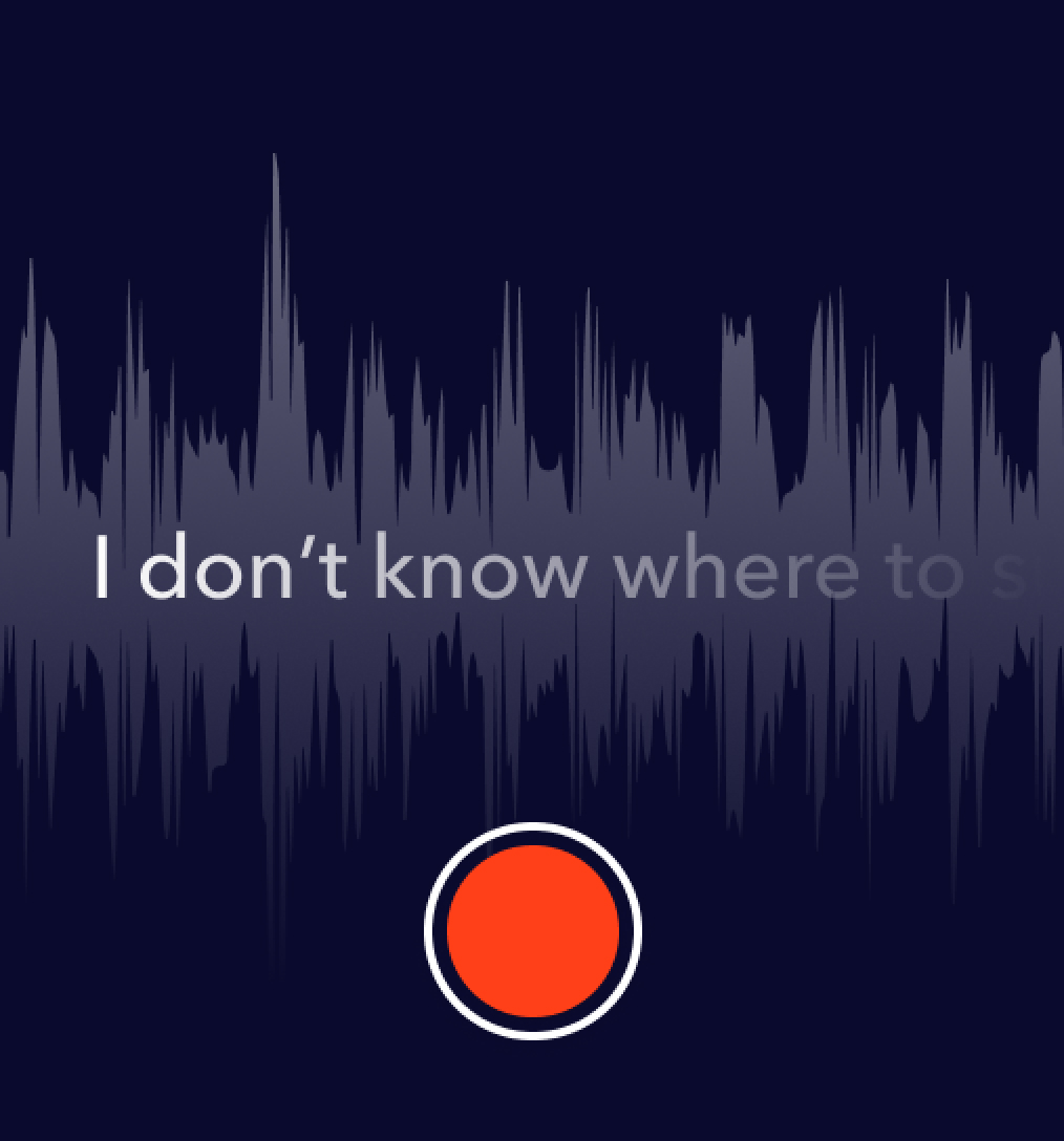 Waveform and text: I don't know where to s…