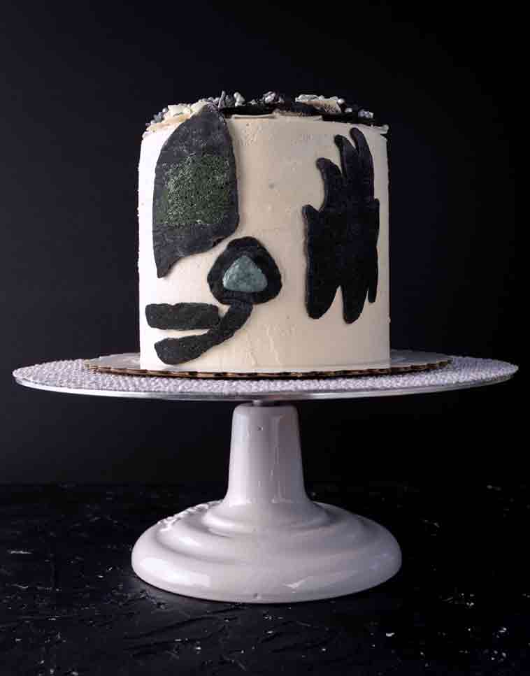 vegan KISS cake