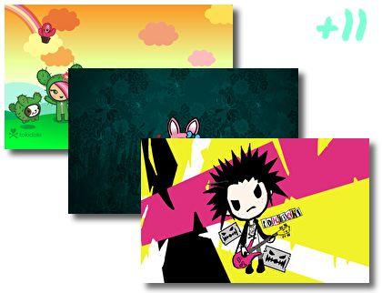 Toki Doki Anime theme pack