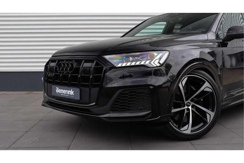 Audi SQ7 4.0 TDI 435pk quattro 7p Panoramadak, BOSE, Massage, Ruitstiksel, Trekhaak afbeelding 21