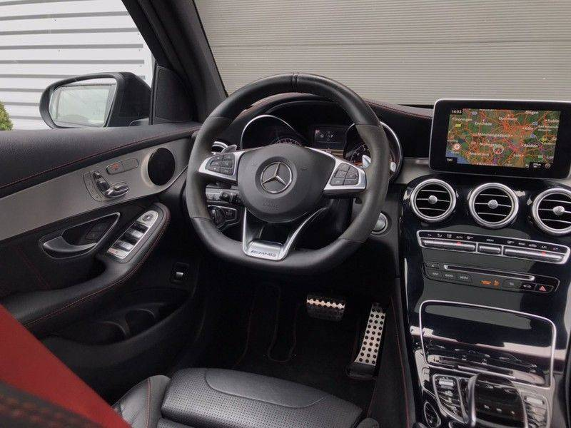 Mercedes-Benz GLC 43 AMG 4MATIC 367PK ACC, Pano, Memory Seats, 360* Camera, Luchtvering, Command Online, Lane Assist, 20INCH afbeelding 13
