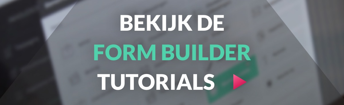 Form Builder Tutorials op Youtube
