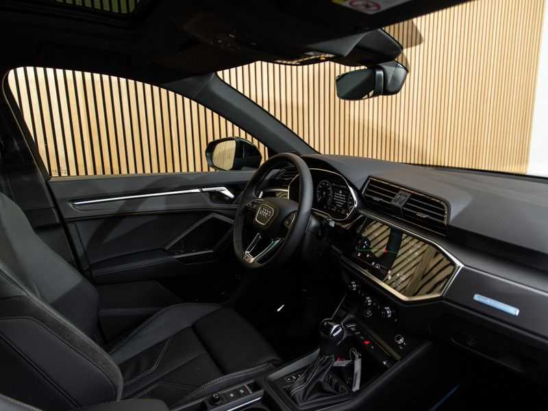 """Audi Q3 45 TFSI e S Edition 20"""", B&O, PANO, LED, B&O, S-LINE afbeelding 16"""