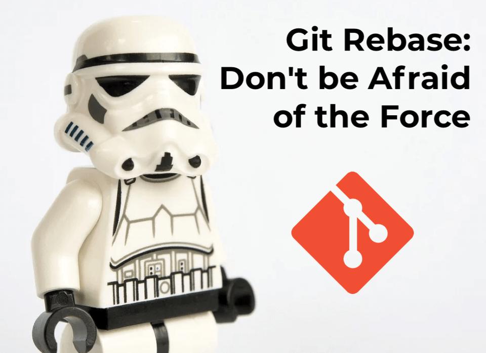 Don't be afraid to use git rebase