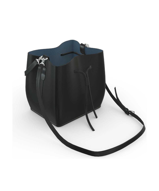 Alya Bucket Small - black