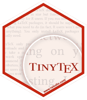 TinyTeX - A lightweight, cross-platform, portable, and easy