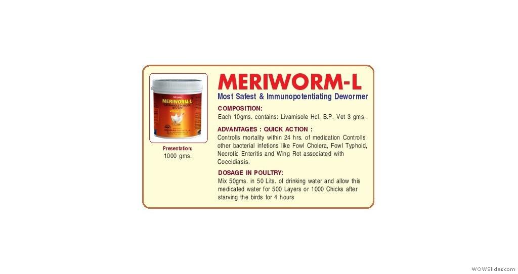 Safest And Immunopotentional Dewormer