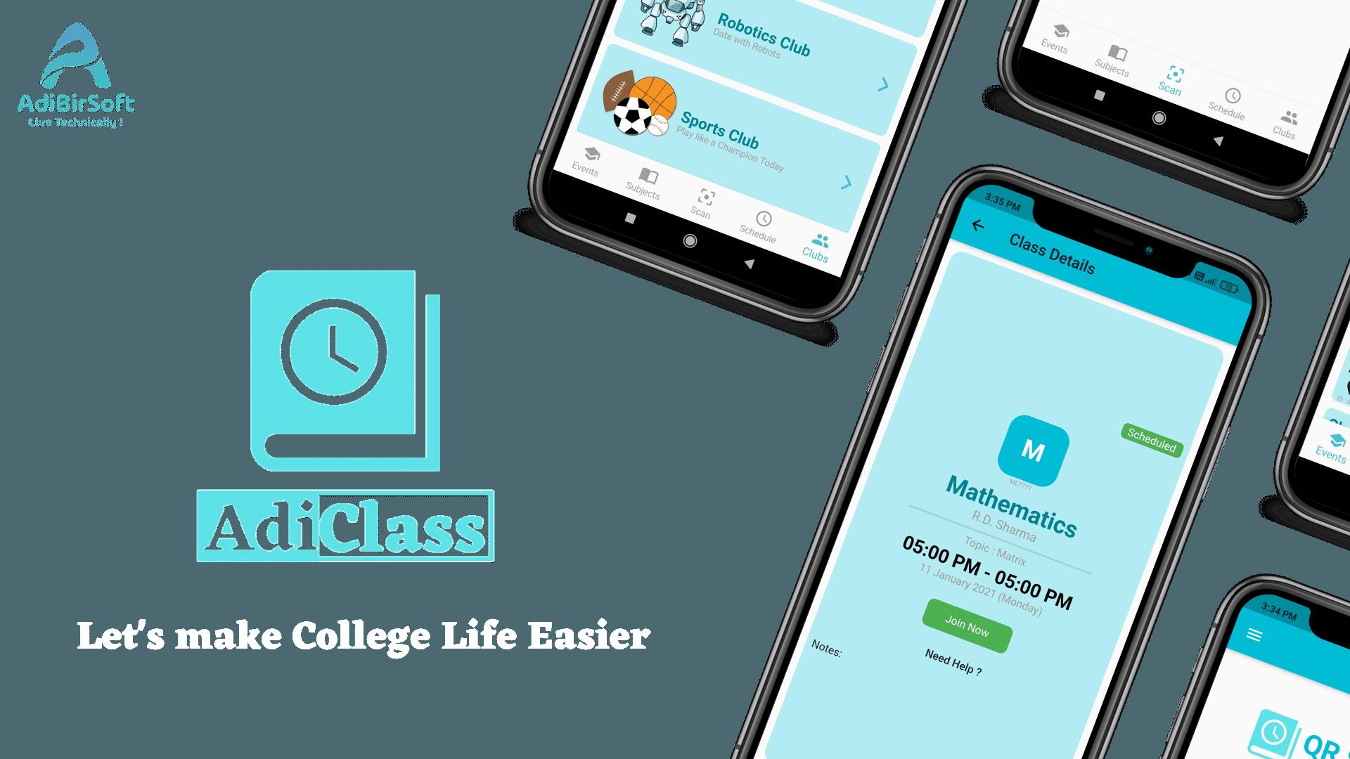 AdiClass App Intro Video