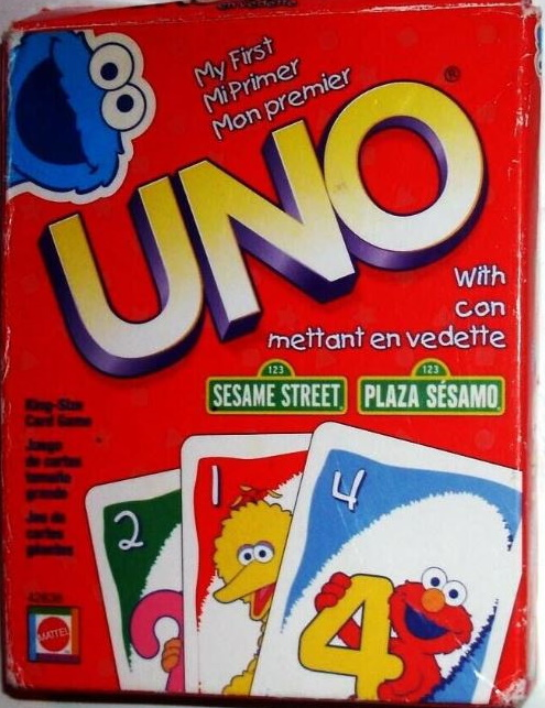 Sesame Street My First Uno